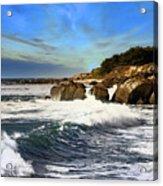 Santa Cruz Coastline Acrylic Print