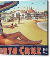 Santa Cruz For Youz Acrylic Print