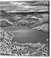 Santa Cruz Lake, New Mexico, April 18, 2016 Acrylic Print