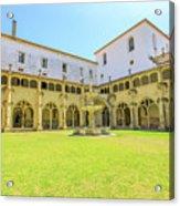 Santa Cruz Monastery Cloister Acrylic Print