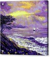 Santa Cruz Rhapsody Acrylic Print by Laura Iverson