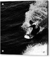 Santa Cruz Surfer Dude Acrylic Print