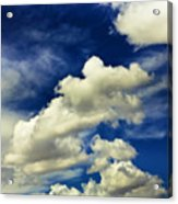 Santa Fe Clouds Acrylic Print