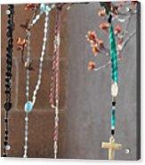 Santa Fe Crosses Acrylic Print
