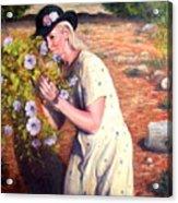 Santa Fe Garden 2   Acrylic Print