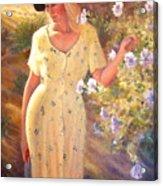 Santa Fe Garden 3   Acrylic Print
