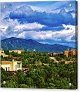 Santa Fe New Mexico Acrylic Print