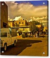 Santa Fe Plaza Acrylic Print