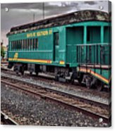 Santa Fe Rail Yard Acrylic Print