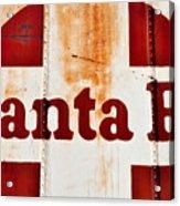 Santa Fe Railway Acrylic Print
