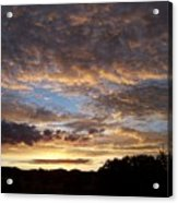 Santa Fe Sunrise  Acrylic Print