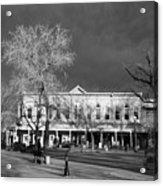 Santa Fe Town Square Acrylic Print