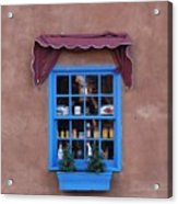 Santa Fe Window Acrylic Print