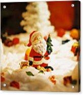 Santa In Town Acrylic Print