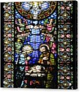 Santa Maria De Montserrat Abbey 1 Acrylic Print