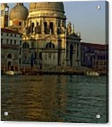 Santa Maria Della Salute In Venice In Morning Light Acrylic Print