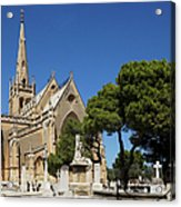 Santa Marija Addolorata Chapel  Acrylic Print
