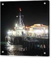 Santa Monica Pier 0719 Acrylic Print