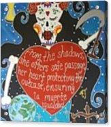 Santa Muerte Acrylic Print