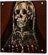 Santa Muerte Holy Death Acrylic Print