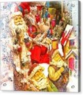Santa Scene 1 Acrylic Print