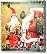 Santa Scene 2 Acrylic Print