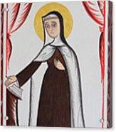 Santa Teresa De Avila - St. Teresa Of Avila - Aotda Acrylic Print