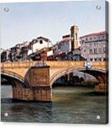 Santa Trinita Bridge Acrylic Print