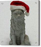 Santa's Little Helper Acrylic Print