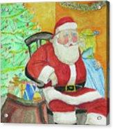 Santas Secret Acrylic Print