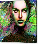 Santhia Thoughts About You Acrylic Print