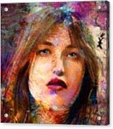 Santia Beauty Face 1062 Acrylic Print