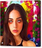 Santia Is Crying 659 Acrylic Print