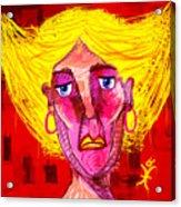 Santia Sour Face 1060 Acrylic Print
