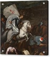 Santiago At The Battle Of Clavijo Acrylic Print