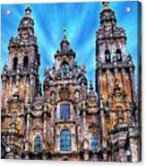 Santiago De Compostela Cathedral Acrylic Print