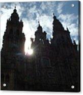 Santiago De Compostela Acrylic Print