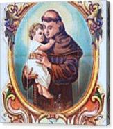 Santo Antonio De Lisboa Acrylic Print