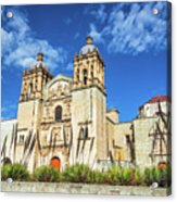 Santo Domingo Church View Acrylic Print