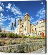 Santo Domingo Church Wide Angle Acrylic Print