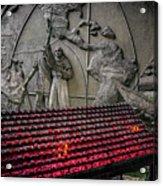 Santo Nino Candles Acrylic Print