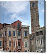 Santo Stefano Venice Leaning Tower Acrylic Print