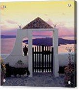 Santorini 010 Acrylic Print