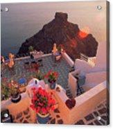 Santorini 016 Acrylic Print