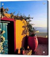 Santorini 09 Acrylic Print
