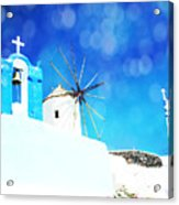 Santorini 1 Acrylic Print