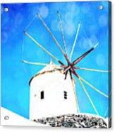 Santorini 2 Acrylic Print