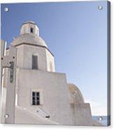 Santorini Church #6 Acrylic Print