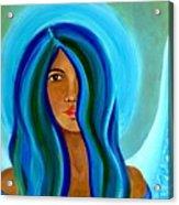 Sapphire Angel Acrylic Print