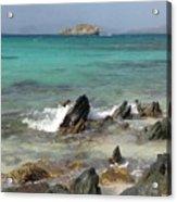 Sapphire Beach Acrylic Print